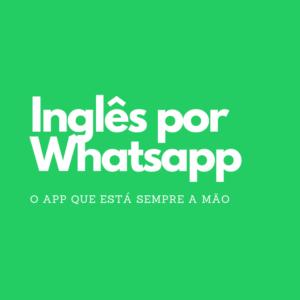 Curso de Ingles por whatsapp