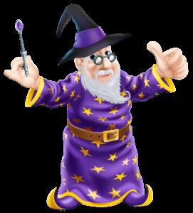 curso de ingles wizard significado