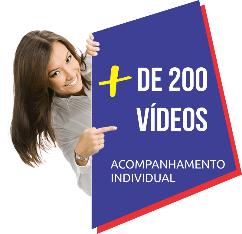 Mais de 200 video-aulas curso de ingles online